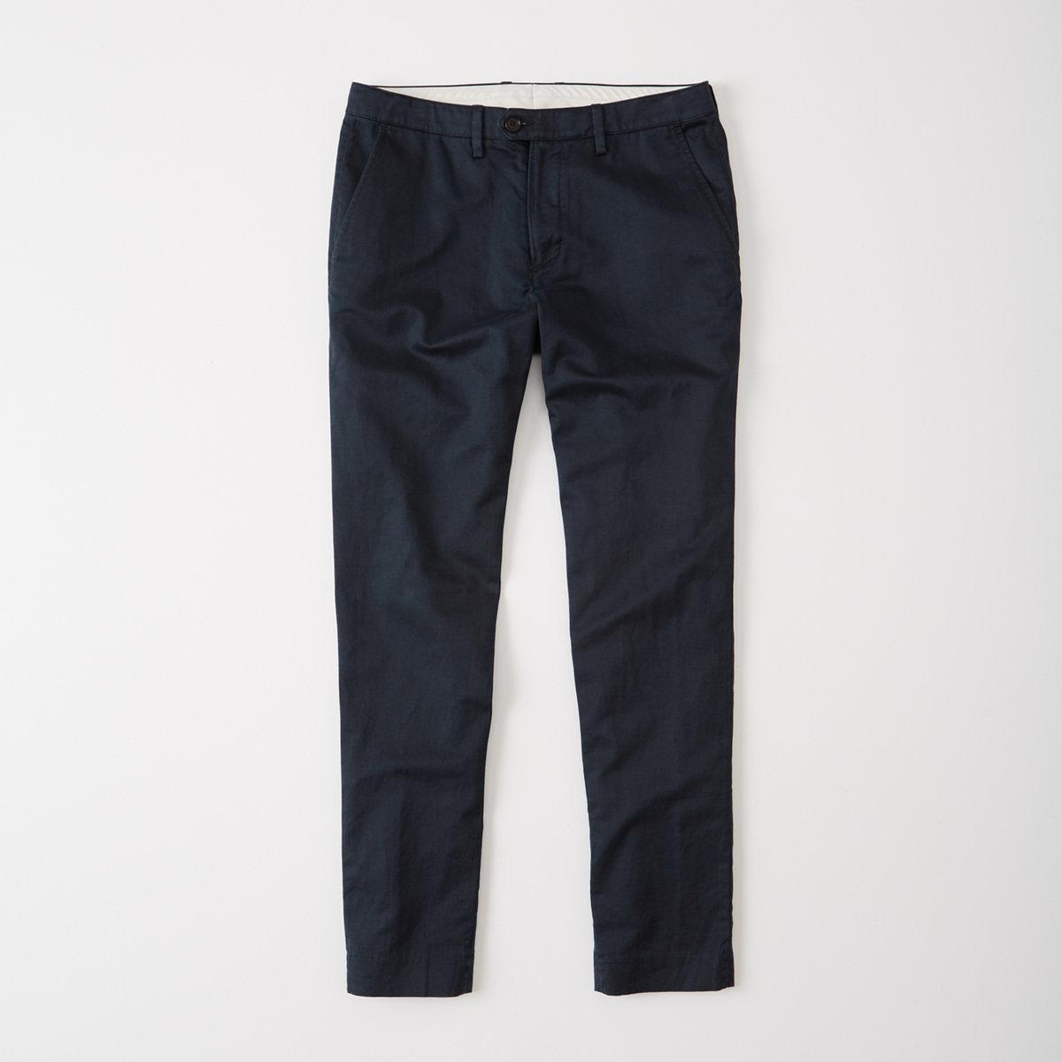 Linen Blend Suit Pants