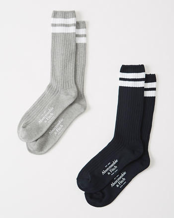 ANF 2-Pack Camp Socks