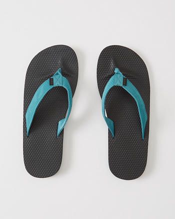 ANF Mixed Media Rubber Flip Flops