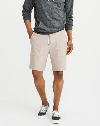 ANF Pull-On Utility Shorts
