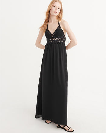 ANF Crochet Maxi Dress