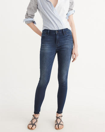 Super Skinny High-Rise Jeans