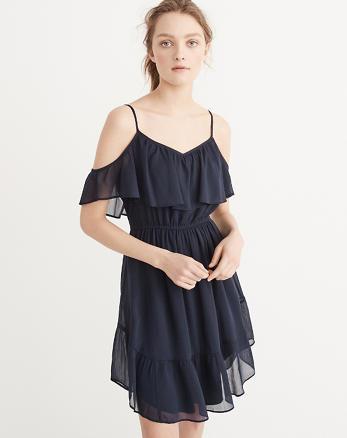 ANF Cold-Shoulder Dress