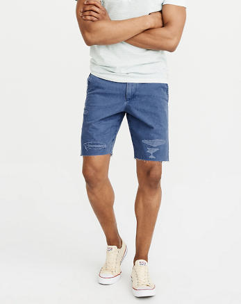 ANF Cutoff Ripped Shorts