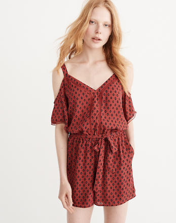 ANF Cold-Shoulder Romper