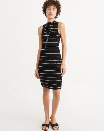 ANF Mock Neck Midi Dress