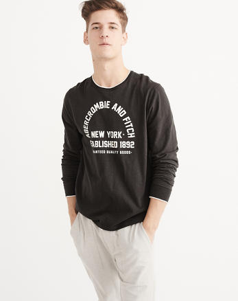 ANF Long-Sleeve Graphic Tee