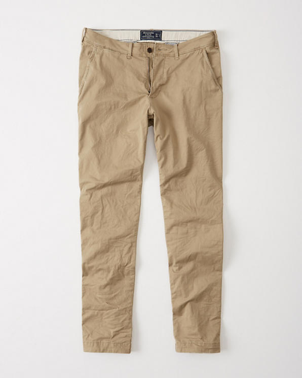 available exquisite style big discount sale Athletic Skinny Khaki Pants
