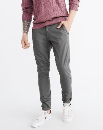 ANF Super Slim Chino Pants