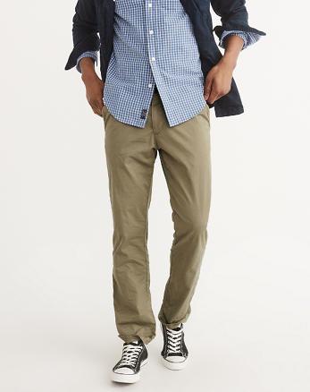 ANF Straight Chino Pants