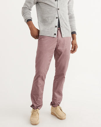 ANF Straight Chino Pants