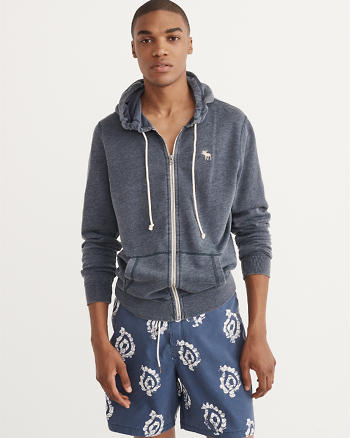 ANF Full-Zip Icon Hoodie