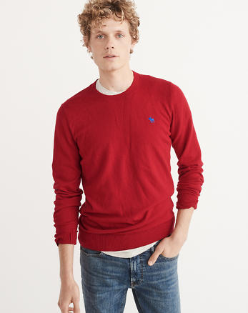 ANF Pop Icon Crewneck Sweater