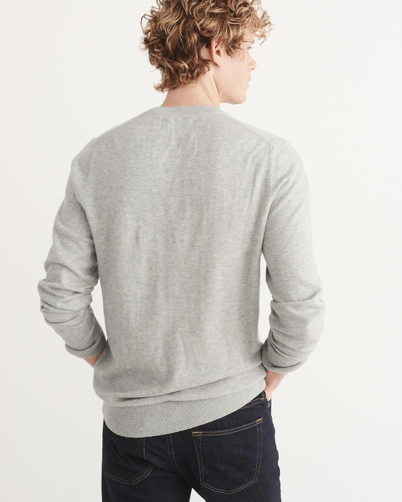 Mens Icon Crewneck Sweater   Mens Clearance   Abercrombie.com