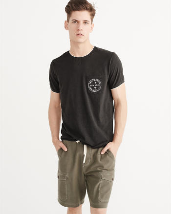 ANF Pocket Crew Tee