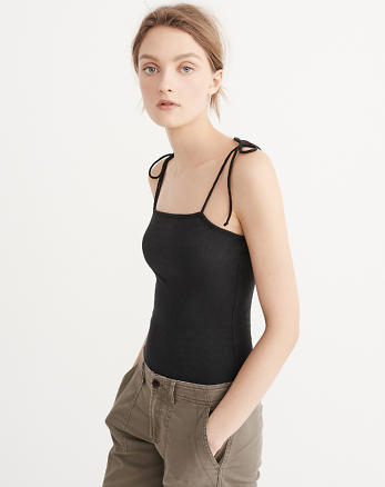 ANF Tie-Shoulder Bodysuit