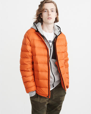 ANF Lightweight Down-Filled Packable Puffer