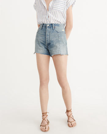 ANF High-Rise Panel Shorts