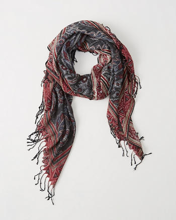 ANF Rectangle Scarf