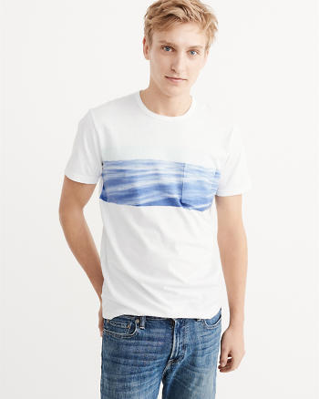 ANF Recycled Fabric Graphic Tee