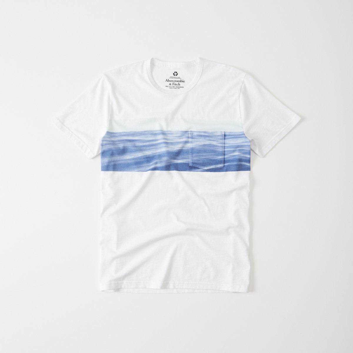 Recycled Fabric Graphic Tee