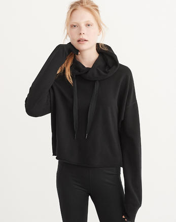 ANF Active Cropped Hoodie