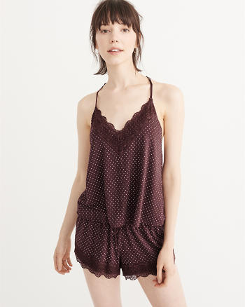 ANF Lace Trim Tank