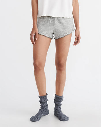 ANF Ruffle Lounge Shorts