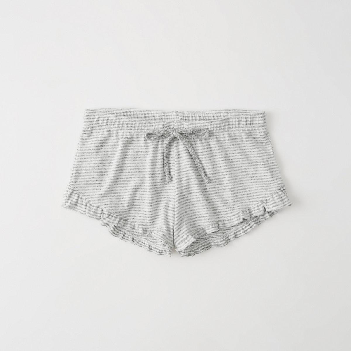 Ruffle Lounge Shorts