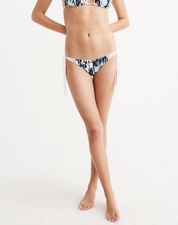 ANF Tassel Side Tie Bikini Bottom