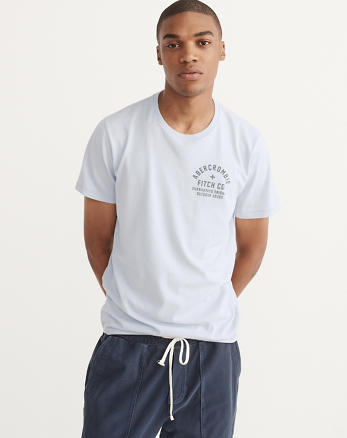 ANF Printed Logo Graphic Tee