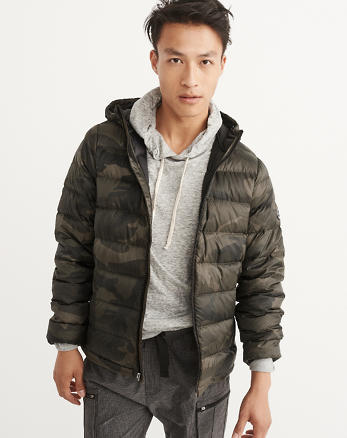 ANF Down-Filled Packable Puffer Coat