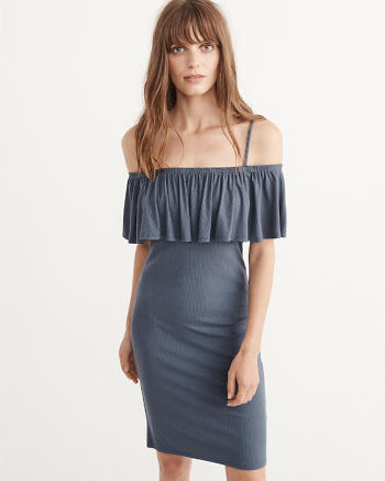 ANF Off-The-Shoulder Bodycon Dress