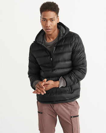 ANF Packable Popover Puffer Jacket