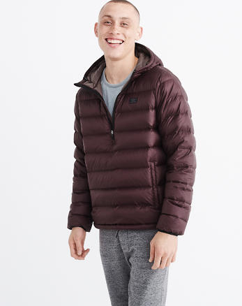 ANF Lightweight Down-Filled Packable Popover