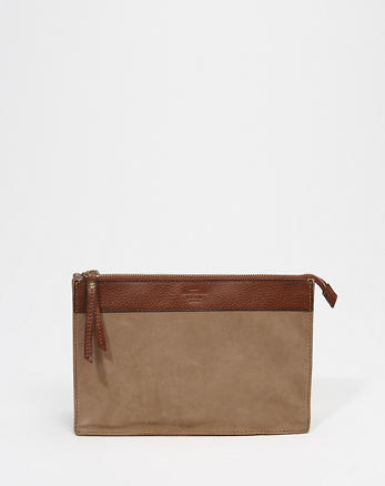 ANF Suede Clutch