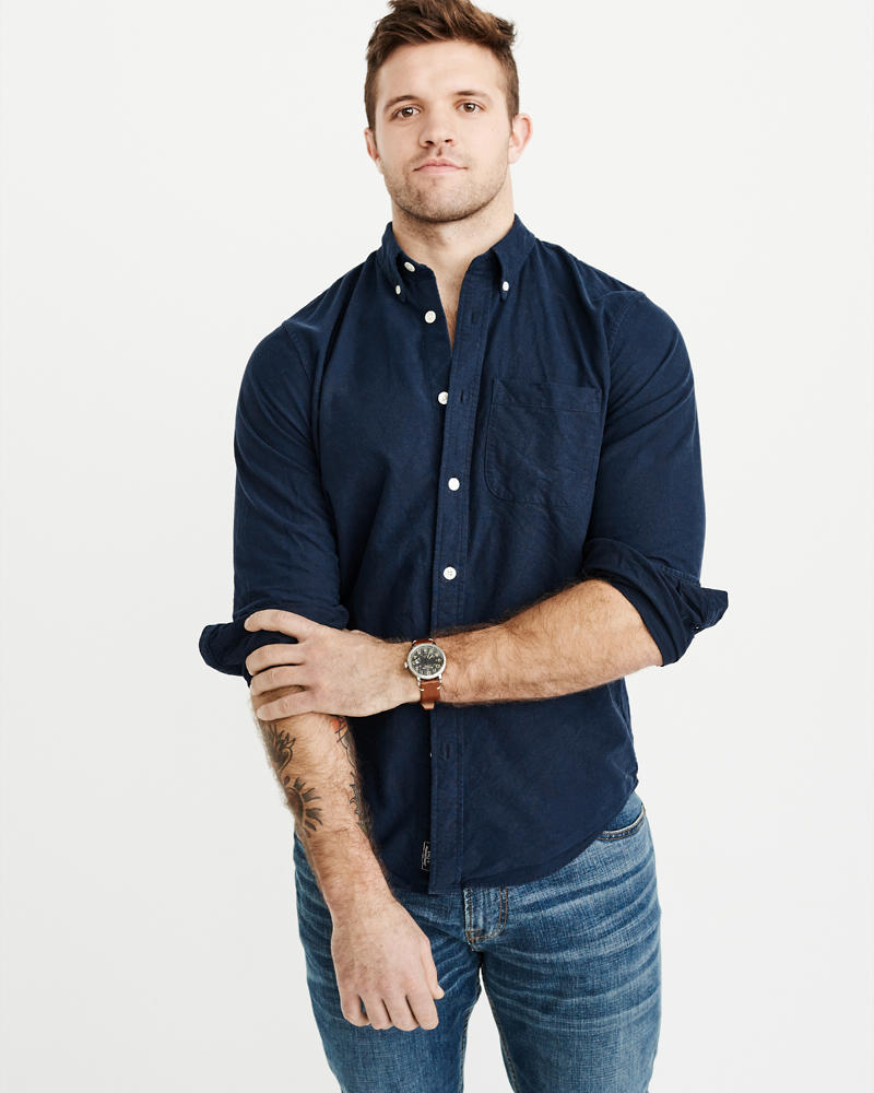 mens shirts abercrombie amp fitch