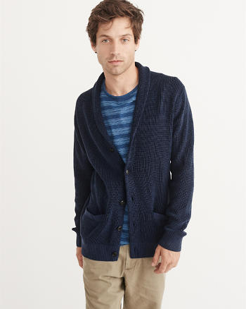 ANF Garment Dye Cardigan