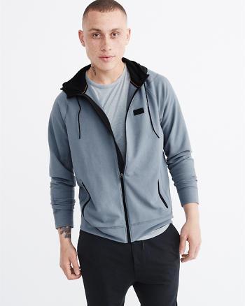 ANF Sport Nylon Full-Zip Hoodie