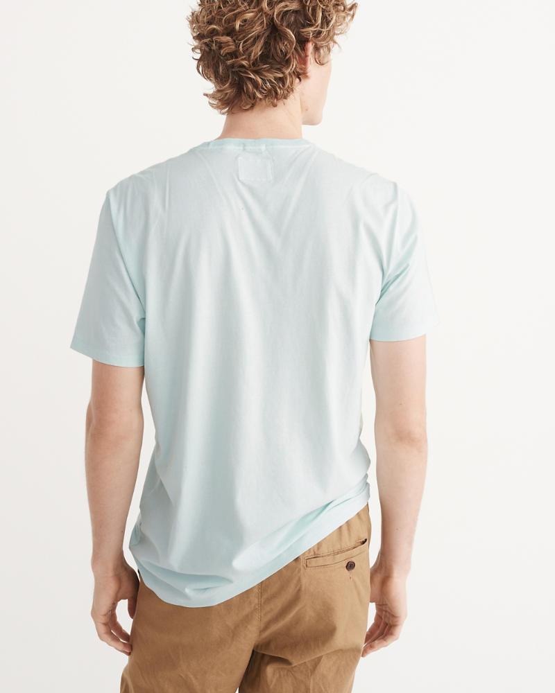 ee28d74fb Hombre Camiseta teñida con icono en el bolsillo   Hombre Ofertas ...
