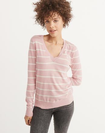 ANF Icon V-Neck Sweater
