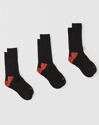 ANF 3-Pack Sport Socks