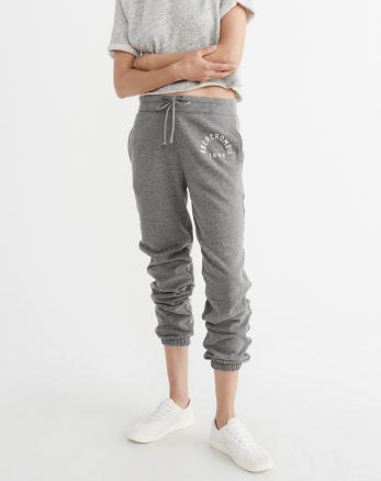ANF Banded Logo Sweatpants