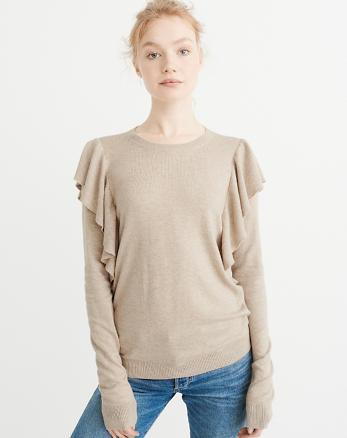ANF Ruffle Sweater