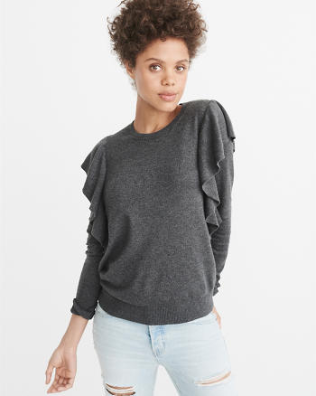 ANF Ruffle Sweater