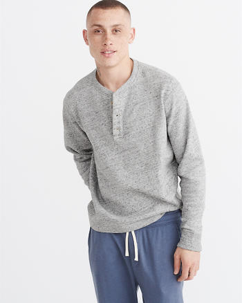 ANF Fleece Lounge Henley