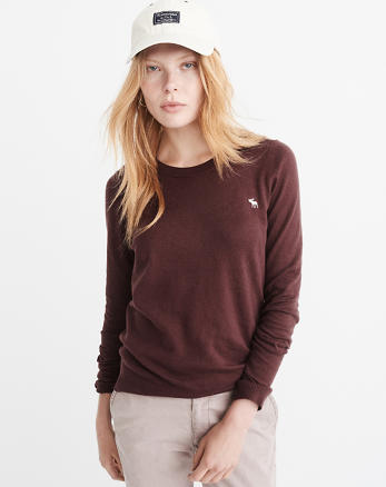 ANF Icon Crewneck Sweater