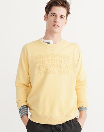 ANF Oversized Crew Sweatshirt