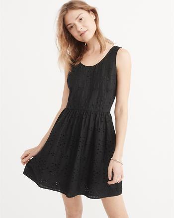 ANF Eyelet Dress
