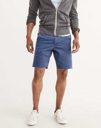 ANF Flat-Front Cutoff Shorts
